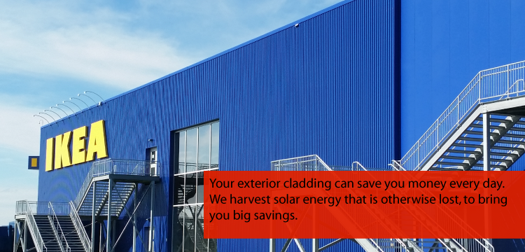 solar air heating system - commercial buildings